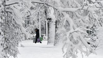 Fin de año congelado: el frente frío que pasa por Estados Unidos no se irá hasta 2018