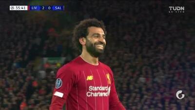 ¡GOOOL! Mohamed Salah anota para Liverpool