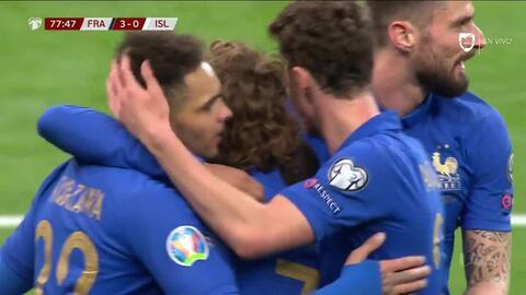 ¡GOOOL! Kylian Mbappé anota para France