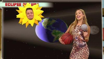 DAM Ximena y el Sol explicaron la Luna Roja