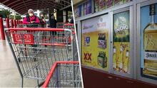 """""""Causó un alboroto"""": Regios hacen compras de pánico de alcohol y cerveza ante comentario de gobernador"""
