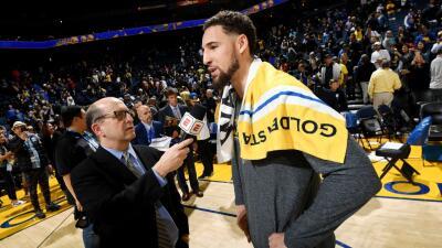 Carrusel NBA: Thompson lideró a los Warriors, los Clippers le recortaron distancia al Thunder y más