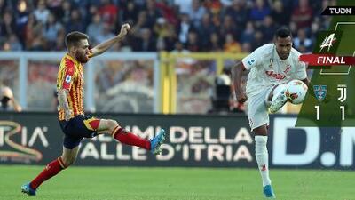 Juve extraña a CR7 en empate ante el Lecce