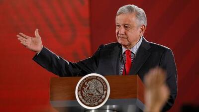 """AMLO convoca a un acto en """"defensa de la dignidad de México"""" y """"en favor de la amistad"""" con EEUU"""