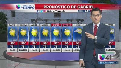Continúan las temperaturas cálidas en San Antonio