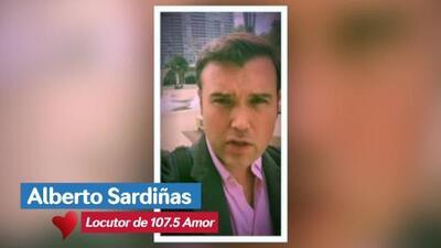Alberto Sardiñas te pide ayuda para combatir el cáncer del seno