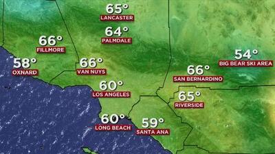 Martes soleado y cálido, el pronóstico del tiempo para Los Ángeles