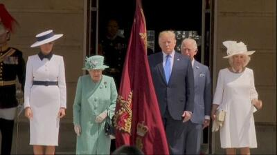 President Trump's visit to the United Kingdom