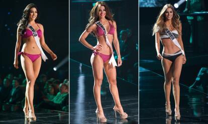 2d18a3ff7b35 Las chicas de Miss Universo 2015 en bikini | Famosos | Univision