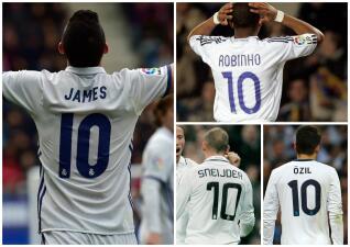 El Real Madrid alarga la maldición del número '10' ¿Quién lo heredará?