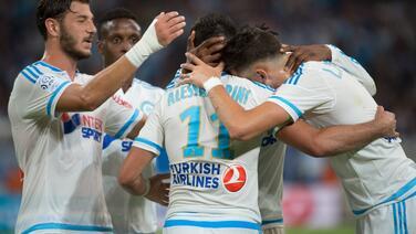 Olympique de Marsella logra su primera victoria de la temporada