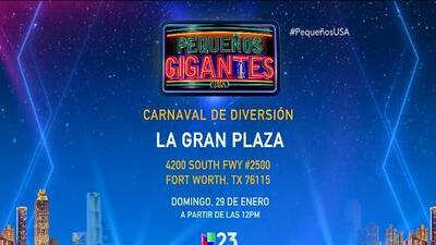 ¡No te pierdas el Carnaval de Diversión de Pequeños Gigantes USA!