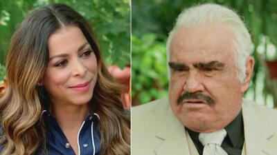Vicente Fernandez le confesó a Lourdes Stephen cómo quiere que sus nietos lo recuerden
