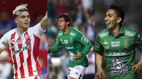 Ángel Mena y Brian Fernández continúan liderando la tabla de goleo