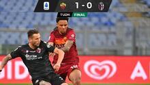 Bryan Reynolds recibe primera titularidad y Roma gana a Bologna