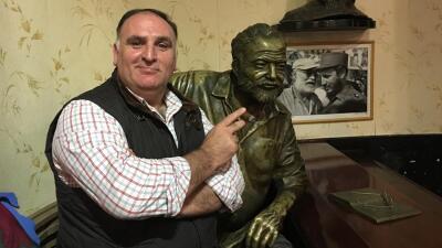 Se está cocinando el cambio en Cuba, dice el famoso chef José Andrés