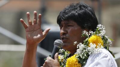¿Evo de nuevo? Bolivia vota la reelección de Morales