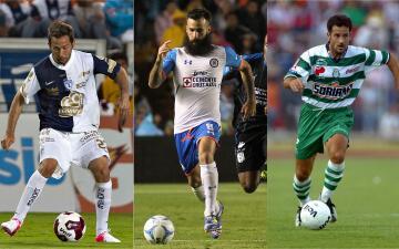 Estos son algunos jugadores europeos que han formado parte del fútbol mexicano.