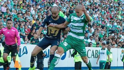 Cómo ver Pumas vs. Santos Laguna en vivo, por la Liga MX 29 de Septiembre 2019