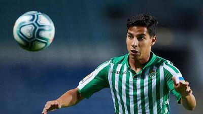 Diego Lainez, firme en sumar y aportar al Betis en la temporada