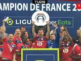 ¡Grítalo Lille! Pizzuto, Weah y David celebran título de la Ligue 1