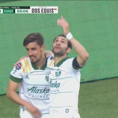 ¡Ya es goleada! Diego Valeri anota el 3-0 con un cañonazo cruzado