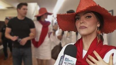 En video: Ana Bárbara llega de la mano de su novio a un importante evento en Los Ángeles