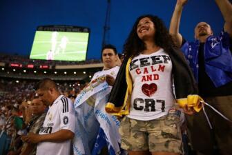 Locura en Dallas por Cristiano Ronaldo