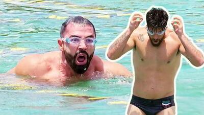 Memo Corral y Silverio protagonizaron un aguerrido duelo sobre agua