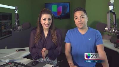 """""""En El Mix"""" con Danny Luna y Vanessa Abuchaibe en Noticias 23 - Lunes 2/15/16"""