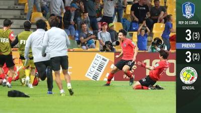 La locura sin fin: Corea y Senegal nos regalaron la batalla épica del Mundial Sub-20