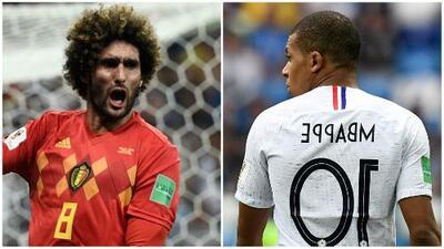 Bélgica vs. Francia: un duelo entre la experiencia y la velocidad
