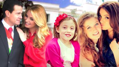 Así han cambiado las hijas de Angélica Rivera desde que llegaron a Los Pinos