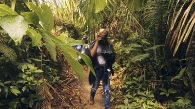 Inmigrantes que mueren ahogados o por mordeduras de serpientes, la terrible travesía de la selva del Darién
