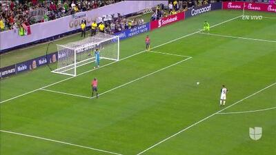 ¡GOOOL! Celso Borges anota para Costa Rica