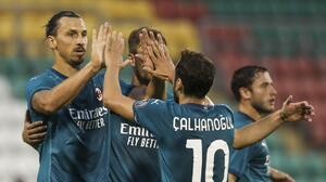 Ibra anota gol después de 8 años en Europa con el AC Milan