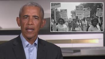 """""""La herida puede sanar"""": Barack Obama al hablar del racismo en EEUU que no cambió con su mandato"""