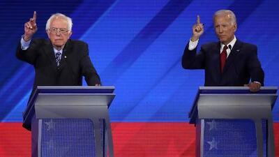 La salud, los negocios familiares y otros temas que enfrentará cada uno de los candidatos en el debate demócrata