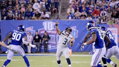 Russell Wilson brilla en Nueva York y Seattle deja sin oportunidad a los Giants