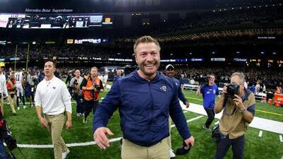 Sean McVay se convierte en el coach más joven en llegar al Super Bowl