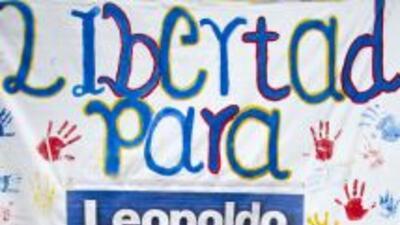 Justicia venezolana rechaza excarcelación del líder opositor Leopoldo López