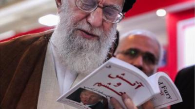 Trump sale del acuerdo nuclear y el máximo líder de Irán ¿se burla de él? en Instagram