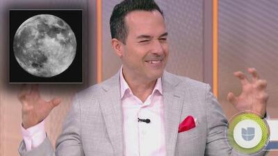 Carlos Calderón amaneció sintiéndose 'hombre lobo' y todo por culpa de la Superluna de gusano