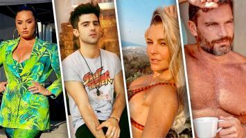 Demi Lovato, Max Ehrich, Marjorie de Sousa, Julián Gil y otras celebridades que han roto su compromiso antes de llegar al altar