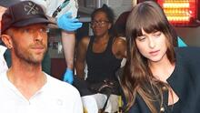 Dakota Johnson y Chris Martin pasan tremendo susto: su chofer atropelló a una mujer en NYC