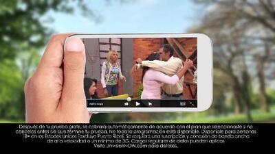 Mira Univision y UniMás en VIVO donde y cuando quieras con Univision Now