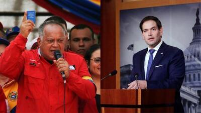 Diosdado Cabello, el número dos del chavismo, bloquea en Twitter al senador Marco Rubio