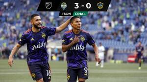 Con doblete de Ruidíaz, Seattle apagó a Chicharito y al LA Galaxy