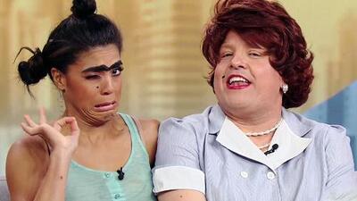 A gritos y reclamos terminó el dueto que pudo haber hecho historia entre Mela y Meche, las divas del reggaeton