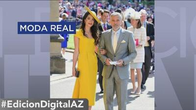 La moda de la boda real